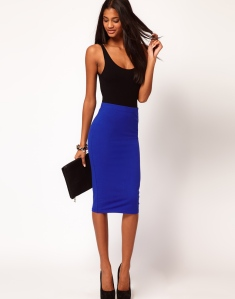 ASOS Pencil Skirt in Jersey $28.06