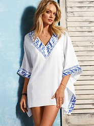 Embroidered Tunic: Victoria's Secret $69.50