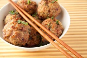 Photo Credit: tablefeast Cranberry Turkey Meatballs